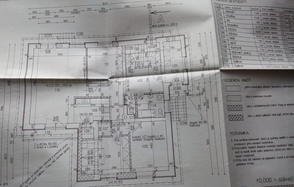 měření radonu ve stavbě